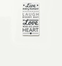 YOU·P® White | Live Laugh Love