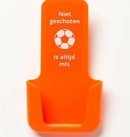 YOU·P® YOU·P® smartphone holder | orange | Niet Geschoten Is