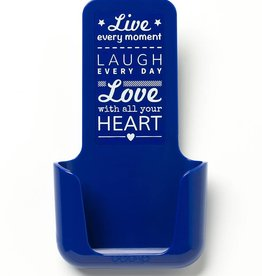 YOU·P® YOU·P® smartphonehouder | blue | Live Laugh Love - Copy