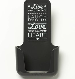 YOU·P® YOU·P® smartphonehouder | grijs | Live Laugh Love