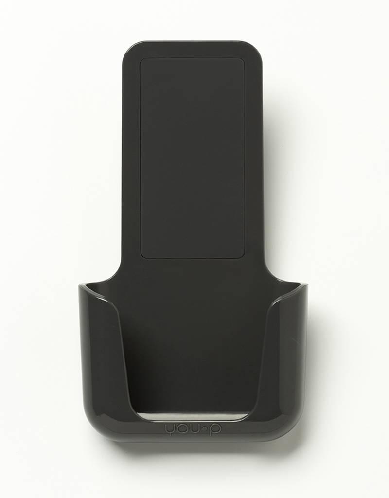 YOU·P® YOU·P® smartphonehouder | grijze houder | grijs klepje