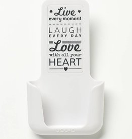 YOU·P® YOU·P® smartphone holder | white | Live Laugh Love