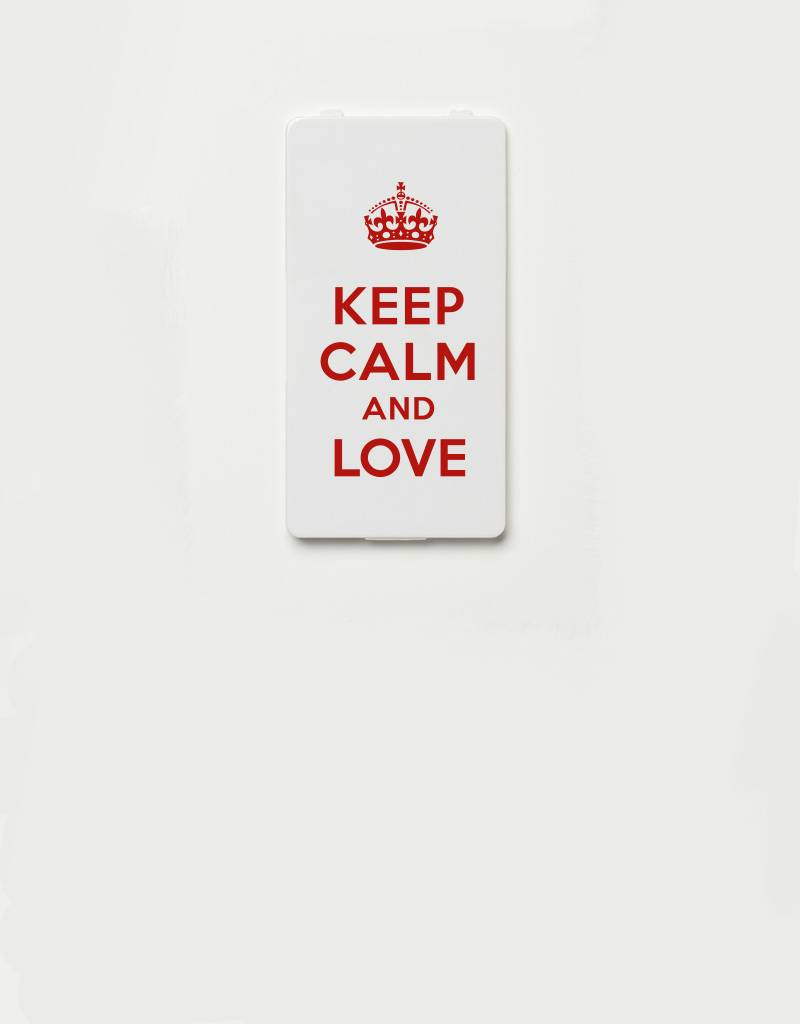 YOU·P® YOU·P®-klepje limited edition | KEEP CALM AND LOVE