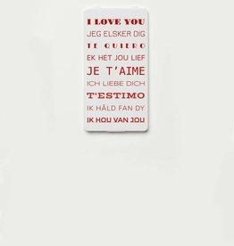 YOU·P® I LOVE YOU (9 talen)