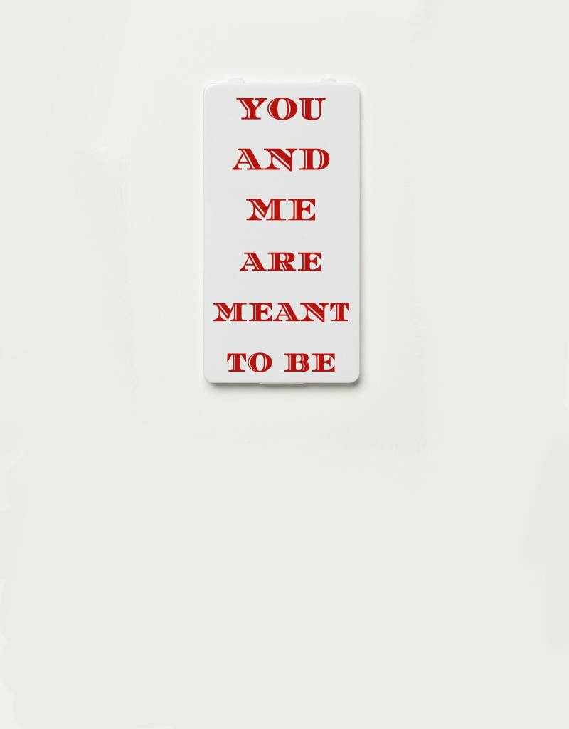 YOU·P® YOU·P®-klepje limited edition | YOU AND ME ARE MEANT TO BE (rood)