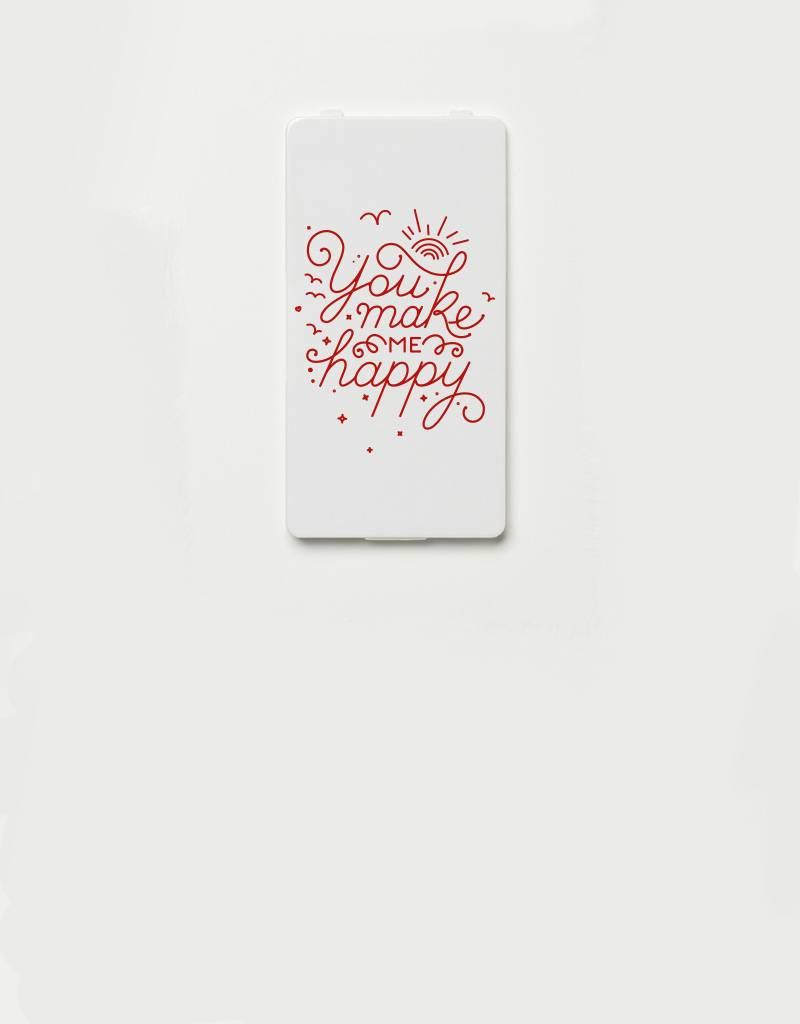 YOU·P® YOU·P® Limited Edition - cover for YOU·P smartphone holder | YOU MAKE ME HAPPY