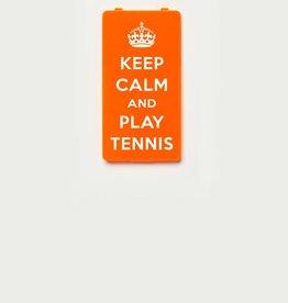 YOU·P® KEEP CALM and PLAY TENNIS