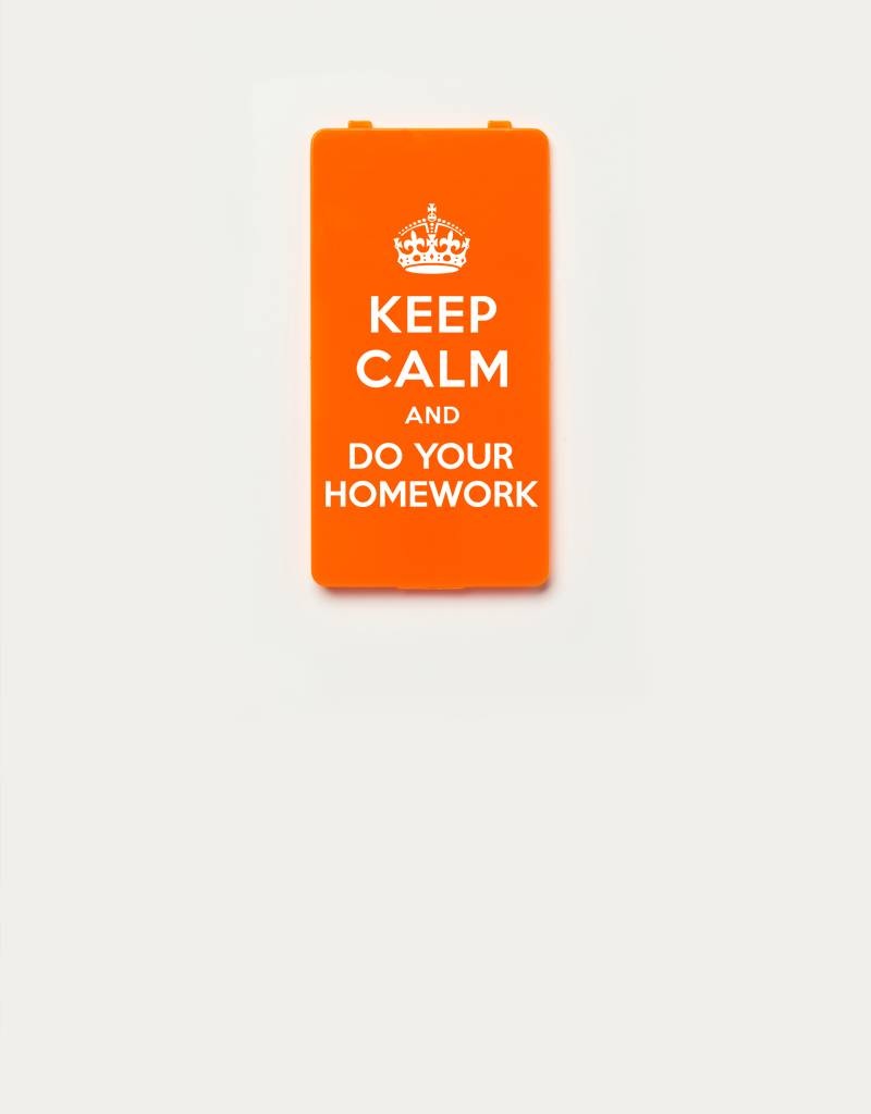 YOU·P® YOU·P® Limited Edition - cover for YOU·P smartphone holder | DO YOUR HOMEWORK | Orange