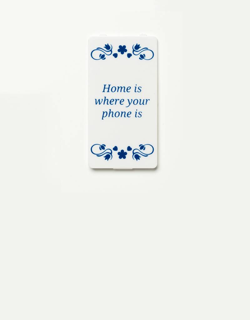 YOU·P® YOU·P® klepje | wit | Home Is Where Your Phone Is