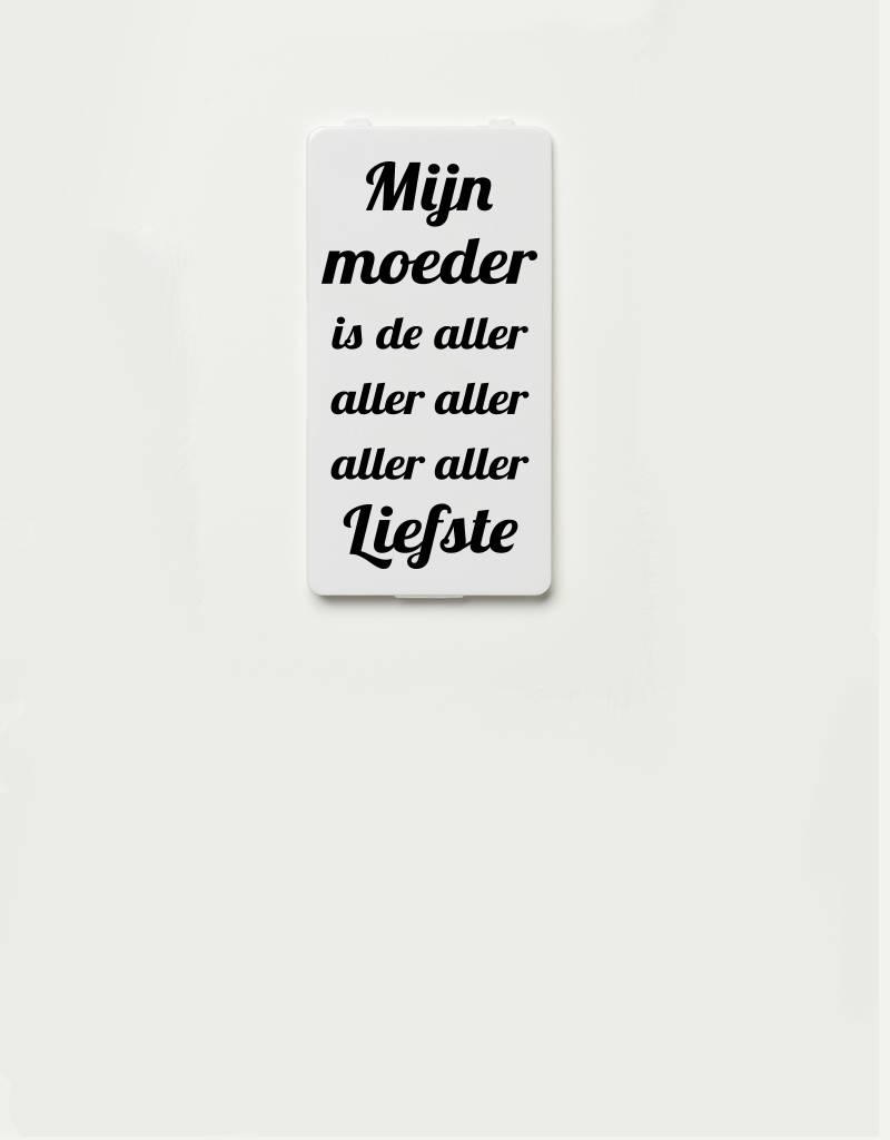 YOU·P® YOU·P® cover | white | Mijn Moeder Is De Aller Aller Liefste