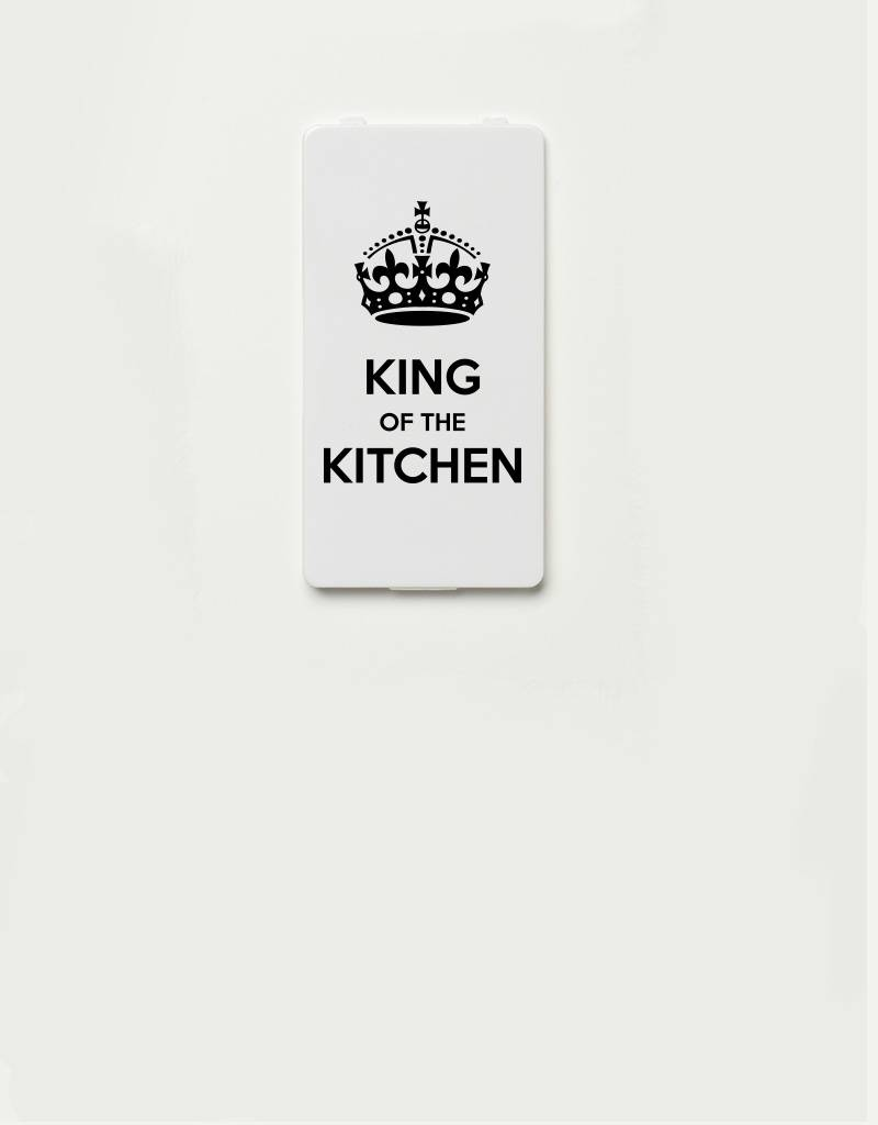 YOU·P® YOU·P® - cover for YOU·P smartphone holder | King of the kitchen - black on white