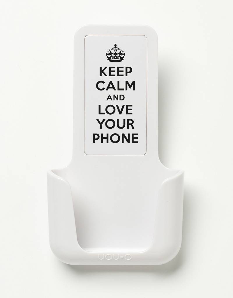 YOU·P® YOU·P® smartphone holder | Keep Calm Love Your Phone