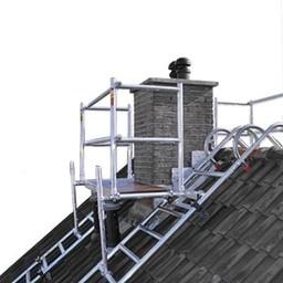 Euroscaffold Dak- schoorsteensteiger compleet 3,05 m
