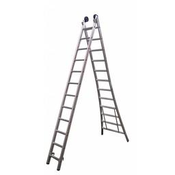 MAXALL®  MAXALL® Tweedelige Reformladder 2x7  (max. 4,25 meter werkhoogte)