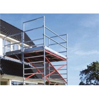 Euroscaffold Uitwijkconsole / Dakconsole - Universeel - Verstelbaar 75-135 cm
