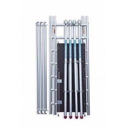 Euroscaffold Module 3 voor Compact steiger (1+2+3  werkhoogte 5,80 m)