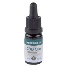 Medihemp CBD Olie Bio 5% CBD, 10 ml.