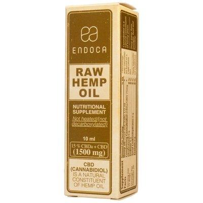 Endoca CBD Olie Raw 15% CBD, 10 ml