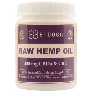 Endoca CBD Capsules Raw 3% CBD, 300 mg
