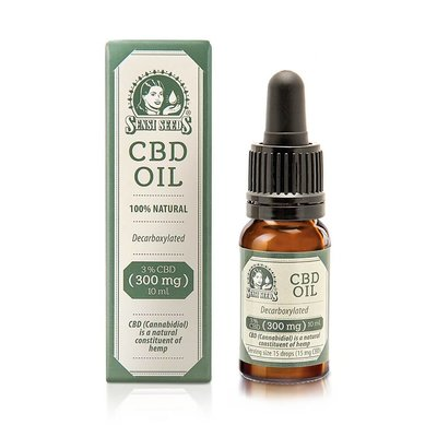 Sensi Seeds CBD Olie 3%, 10 ml CBD