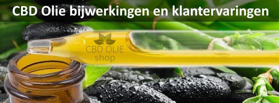 CBD Olie bijwerkingen - Lees wat andere klanten ervaren hebben