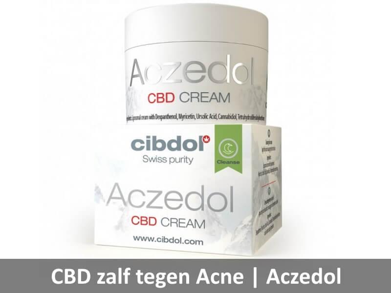 cbd zalf tegen acne Aczedol