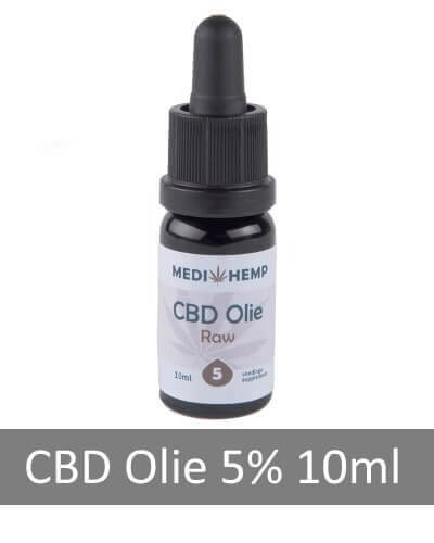 CBD Olie Raw 5% CBD, 10 ml