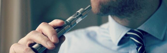 CBD e-sigaret dampen