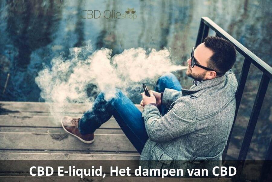 CBD E-liquid, het dampen van CBD