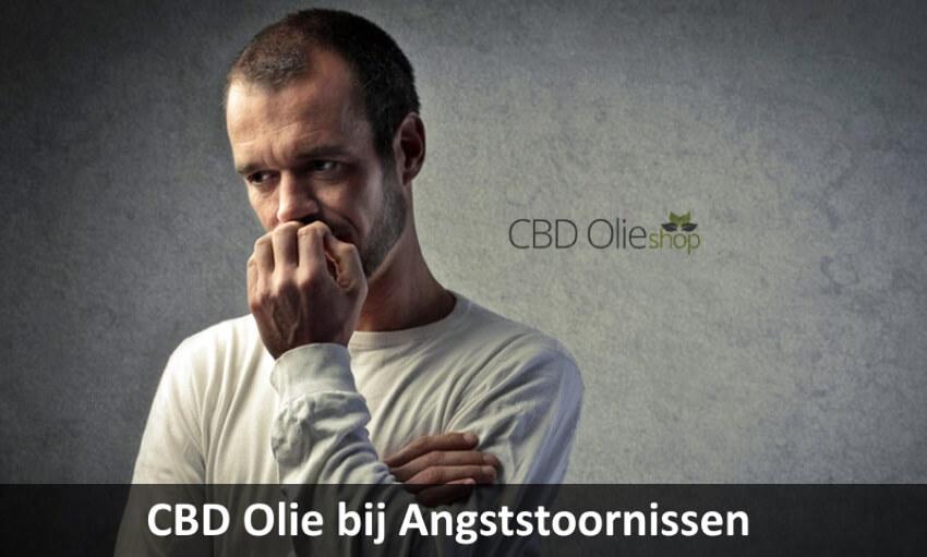 CBD Olie bij Angststoornissen