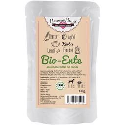 Herzenshund Bio-Ente mit Bio Gemüse 130 g