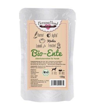 Herzenshund Bio-Ente mit Bio-Gemüse 130 g