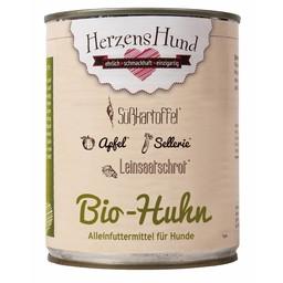 Herzenshund Bio-Huhn mit Bio-Gemüse 800 g