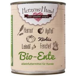 Herzenshund Bio-Ente mit Bio Gemüse 800 g