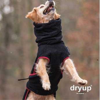 Fit4dogs Dryup Cape - BLACK