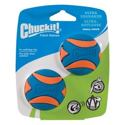 Chuck-it Fetch Games CHUCKIT ULTRA SQUEAKER  - Small - 2er Pack