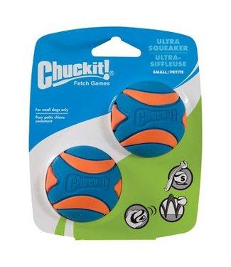 Chuck-it Fetch Games CHUCKIT ULTRA SQUEAKER  - Small - 2er Pack