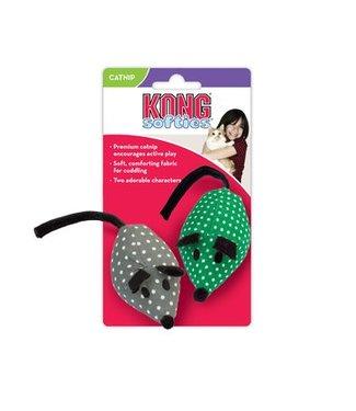 Kong Softies Catnip Mice 2 Pack