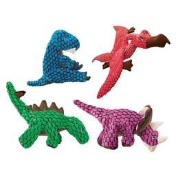 Kong Company KONG - Dynos Triceratops Pink Small