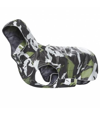 Rukka Hunde Regenmantel Stream - Cool Camo