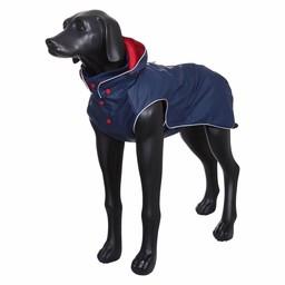 Rukka Hunde Regenmantel Stream - Navy