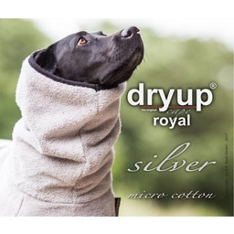 Fit4dogs DRYUP CAPE - Royal Micro Cotton