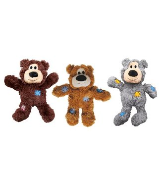 Kong Company Kong Wild Knots Bears - Dunkelbraun