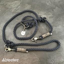 Alsterstars Marine Klassik meets Grey Leather