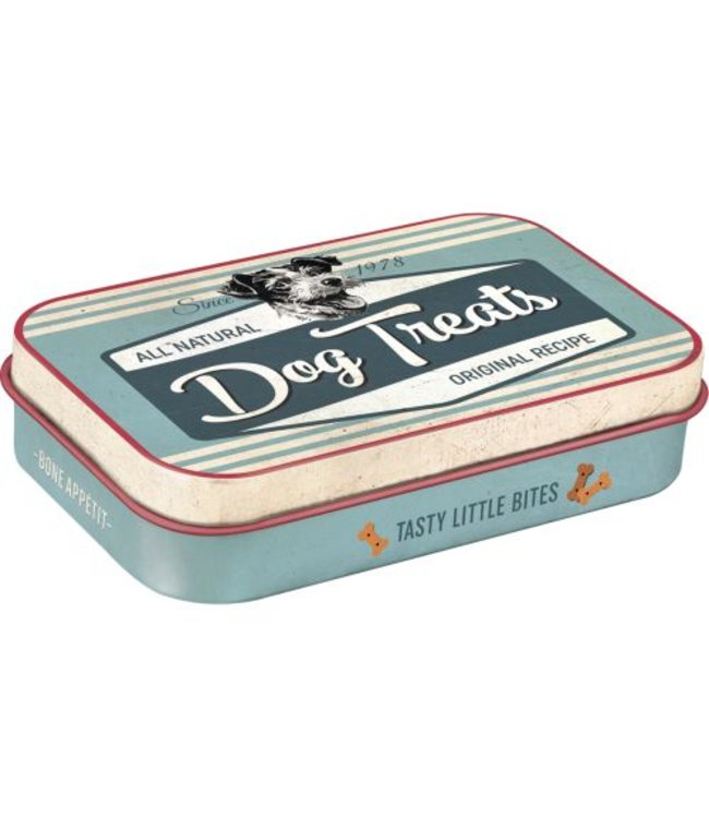 Pfotenschild LECKERLI-DOSE  - Dog Treats Blue
