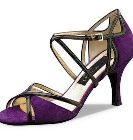 Nueva Epoca Carla violet/zwart