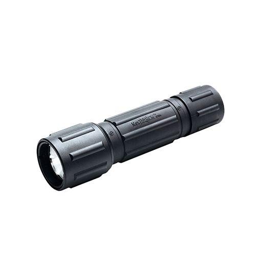 Zaklamp zwart aluminium 6V-Xenon