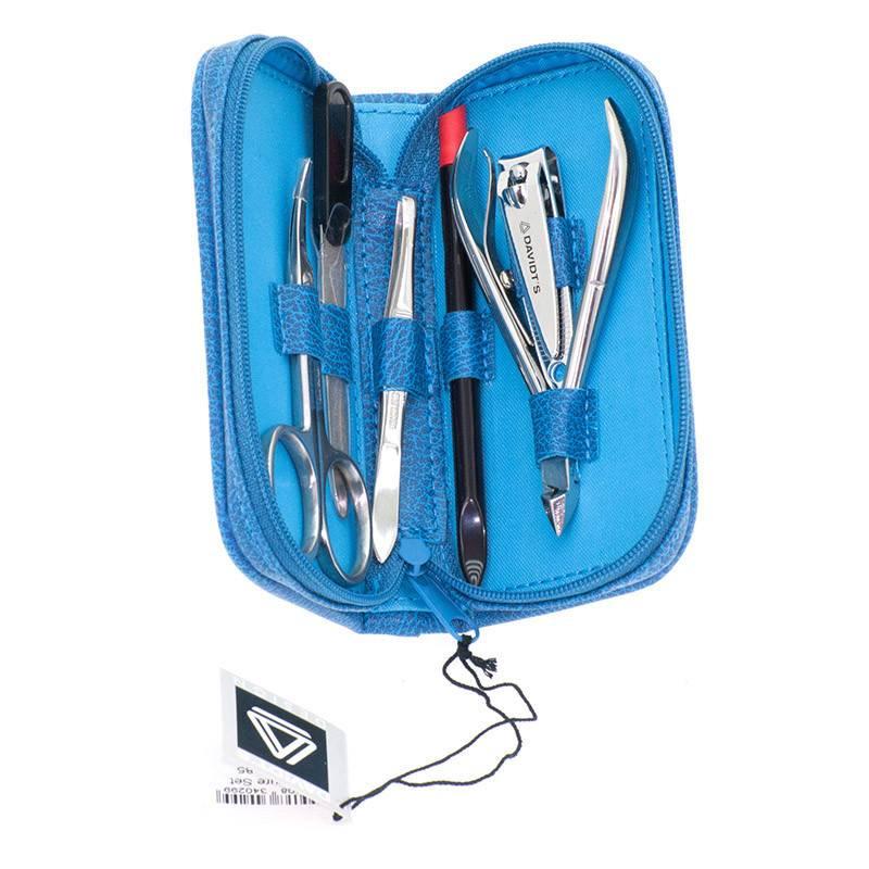 Davidt's - Euclide manicure set - blauw