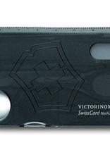 Victorinox Swisscard - Nailcare zwart transparant
