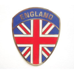 Scooter Specialist N.I. Metal plaque badge - Union England shield